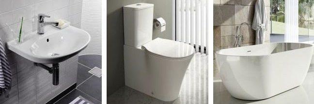 Фото работ по установке сантехники в ванной